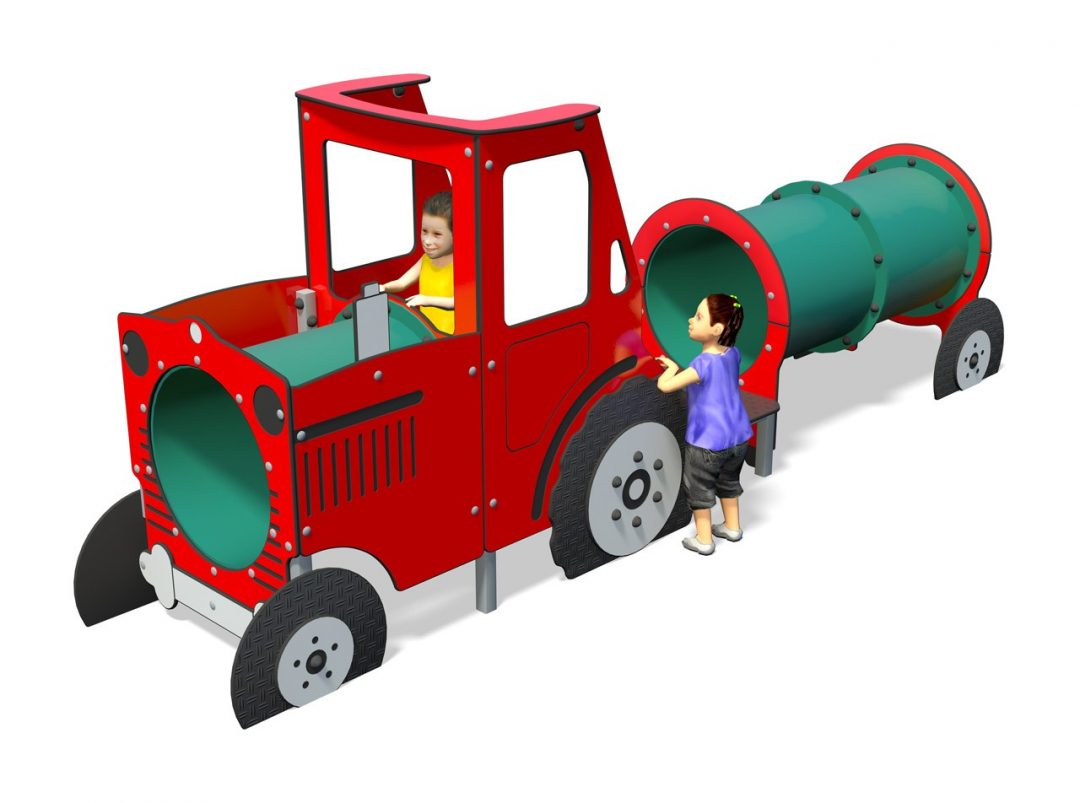 Play tractor with trailer