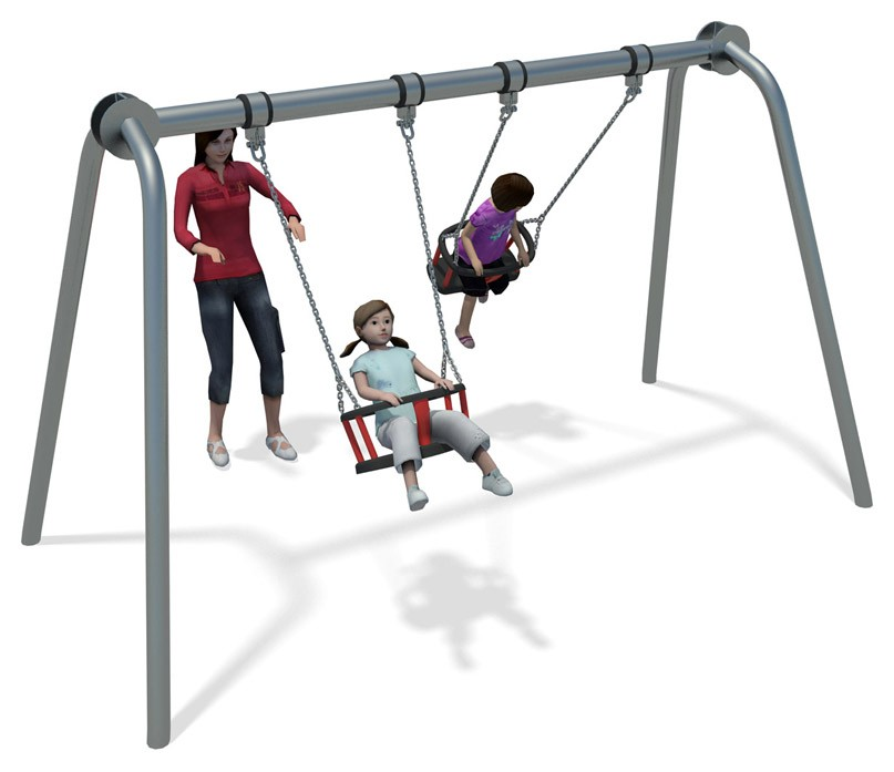 City cradle swing